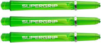 Harrows Supergrip Dart Shafts - Green – Bully Darts
