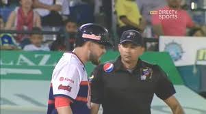 Ponchado expulsado Núñez reclamar umpire principal zurdo Ismael ...