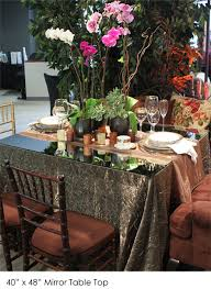 mirror table top town country event
