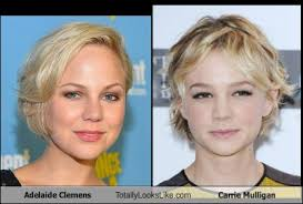 Adelaide Clemens Totally Looks Like Carrie Mulligan - Totally Looks Like