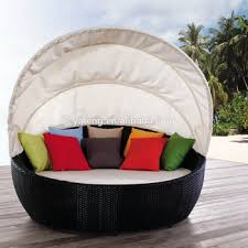 daybed with canopy round rattan outdoor