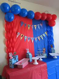 Spiderman Theme Birthday Fiesta De Cumpleanos De Spiderman