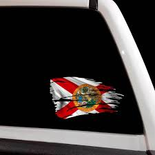 Car Truck Graphics Decals Various Sizes Free Ship Punisher Decal State Of Florida Flag Window Decal Auto Parts And Vehicles