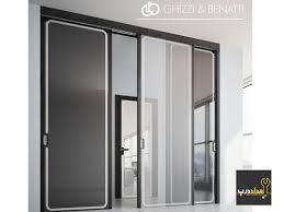 انواع درب شیشه ای glass door types