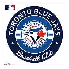Toronto Blue Jays 36 X 36 Logo Repositionable Wall Decal
