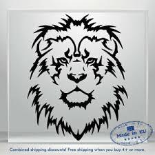 Lion Head Decal Funny Jdm Auto Car Bumper Window Vinyl Decal Sticker Truck 3m Ebay