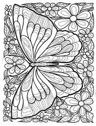 Kleuren Voor Volwassenen Vlinders Ausmalen Ausmalbilder