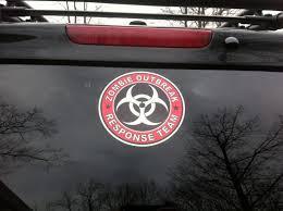 Zombie Vinyl Stickers Decals For Vehicle Sticker For Autos Supdec Graphix