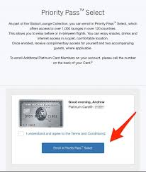 how to access priority p with amex