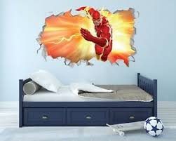 The Flash Wall Hole 3d Decal Vinyl Sticker Decor Room Smashed Fwh04 Ebay