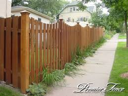 Premier Fence Inc Classic Privacy Altboard Scalloped Image Proview