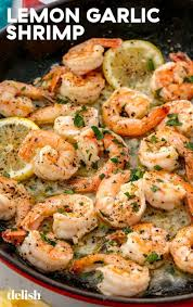 Lemon Garlic Shrimp | Recipe