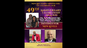 49th New Life Temple Anniv. with Minister Ivan Kennedy - YouTube