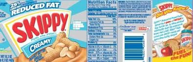skippy peanut er recall prompted by