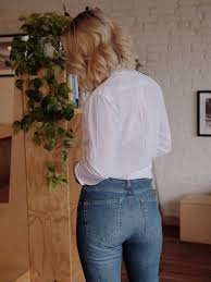 diffe styles of everlane jeans