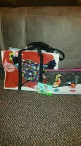 tote pretty bird makeup bag rakin