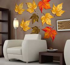 Autumn Leaves Wall Decals Tenstickers