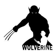 Wolverine Face Vinyl Decal Sticker Car Window X Men Superheros
