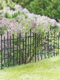 Cross Hatch Garden Border Fencing Gardener S Supply
