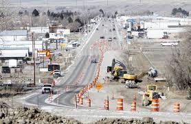 Beacon 14a Intersection Realigned In Cody Local News Codyenterprise Com