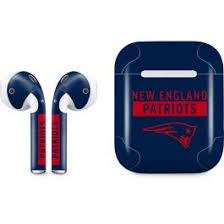 New England Patriots Blue Performance Series Airpods Skin Nfl