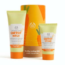 carrot skincare collection the body