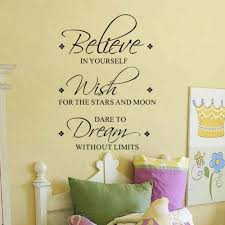 Believe Wish Dream Wall Decals Removable Inspirational Vinyl Wall Art Quotes Sticker For Home Living Room Decor Stickers For Home Stickers Forquote Sticker Aliexpress
