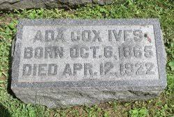 Ada Cox Ives (1865-1922) - Find A Grave Memorial
