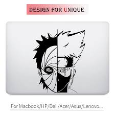 Kakashi Obito Naruto Anime Decal Laptop Sticker For Apple Macbook Pro Air Retina 11 12 13 15 Inch Mac Hp Chromebook Vinyl Skin Sticker For Apple Macbook Laptop Stickerdecal Laptop Stickers Aliexpress