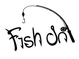 Fish On Decal Fishing Decal Fish On Sticker Fishing Etsy Fishing Decals Boat Decals Fishing Shirts