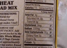 whole wheat bread label trovoadasonhos