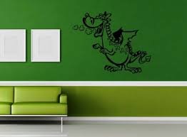 Wall Sticker Vinyl Decal For Children Dragon Nursery Tales Fantasy Ig1188 For Sale Online
