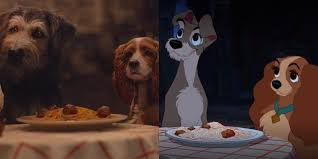 lady and the tramp differences between remake and animated movie