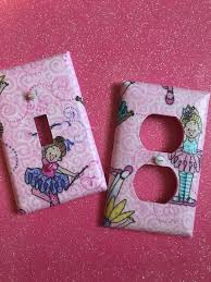 Ballerina Light Switch Cover Outlet Cover Pink Girl S Room Etsy