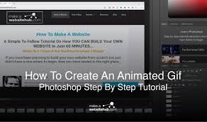 create an animated gif with photo