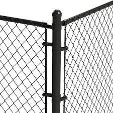 Black Chain Link Fence Tension Bar At Menards