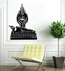 Tuesday Buddha India Wall Vinyl Decals Sticker Home Interior Decor For Any Room Housewares Mural Design Graphic Bedroom Wall Decal 5680 Amazon Com