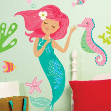 Mermaid Wall Decals Wayfair