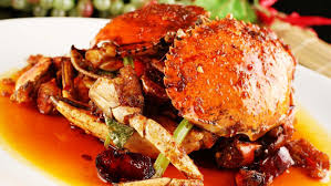 Crab With Oyster Sauce