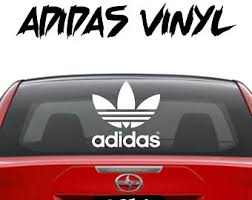 Adidas Decals Etsy