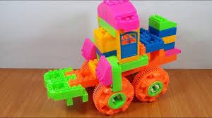Bộ đồ chơi lắp ráp xe đồ chơi 95 mảnh ghép - YouTube