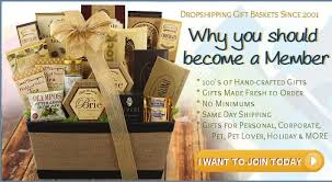 drop ship gift baskets corporate gifts