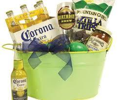 gift basket beer mug chips salsa