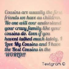 quotes about cousin love quotes