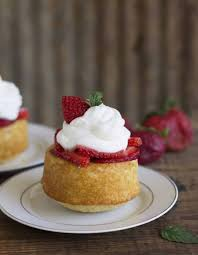 homemade strawberry shortcake feast
