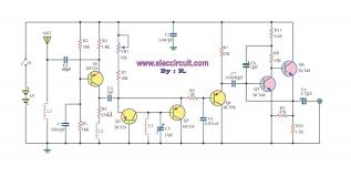 fm receiver circuit with pcb simple