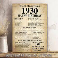 90th birthday gifts ebay