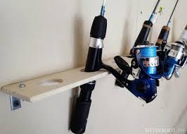 ice fishing rod rack easiest fishing