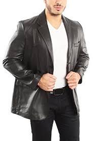 reed men s leather blazer jacket