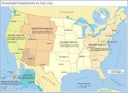 ไขข้อข้องใจ การแบ่งเขตเวลา Time Zone ในสหรัฐอเมริกา อ่านทีเดียวรู้เรื่องเลย    WeGoInter.com - เรียนต่อต่างประเทศ